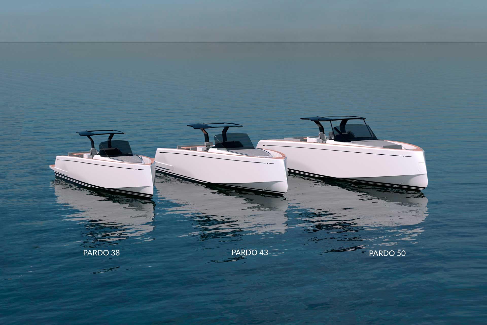 Pardo Yacht Range